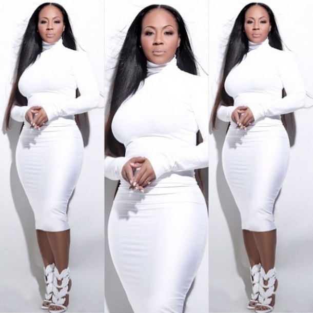 Erica Campbell Gets Flack for her White Dress... (cue eye roll)